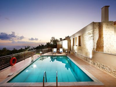 Photo for Panoramic sea view villa with private pool