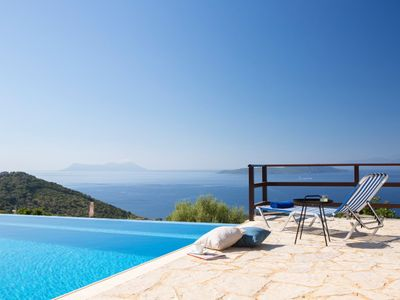 Photo for Villa Kalyvia - Endless Sea View on Sivota Hills and Ionian Islands