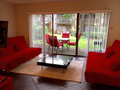 Photo for One Bedroom Condo Monthly rate $1,500.  30 day minimum. $50. Per night. Sleeps 6