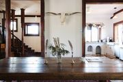 Chic dairy barn renovation w/ swimming pond by Red Cottage Inc