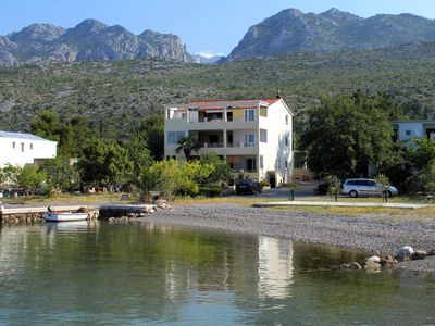Photo for Apartment in Seline (Paklenica), capacity 8+5