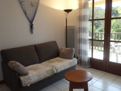 Photo for Apartment 568 m from the center of Vaux-sur-Mer with Internet, Parking, Balcony, Washing machine (93143)