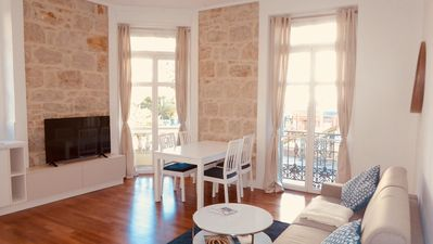 Photo for Chin 2 rooms 51 m2, center, wifi, air conditioning, 50 meters from the sea