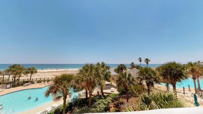 Photo for Beach Club B309 Gulf Front - Ocean Sounds-Pure Paradise!