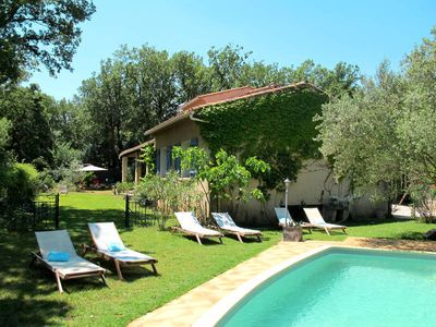 Photo for Vacation home La Vil'la Pitchoune  in Forcalqueiret, Côte d'Azur hinterland - 10 persons, 5 bedrooms