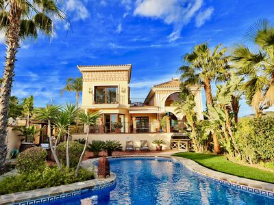 Photo for Stunning architect-designed villa in exclusive area next to best beaches
