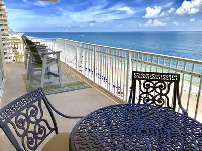 Photo for Crystal Shores 1001, East Corner Unit, Two King Suites each with Private Bath