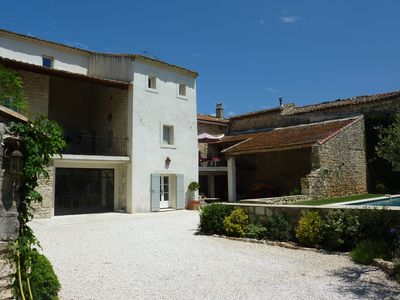 Photo for 'LE MAS GARANCE' CHARACTER HOUSE WITH GARDEN AND POOL NEAR D UZES