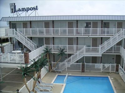 Photo for Best Location in North Wildwood! Lampost! Heated Pool!