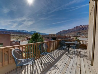 Photo for Desert Oasis with Rooftop Patio! BBQ, A/C, Pool!