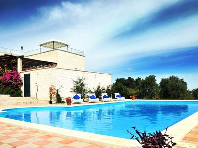 Photo for Villa with large pool, stunning views, fantastic for cycling and walking
