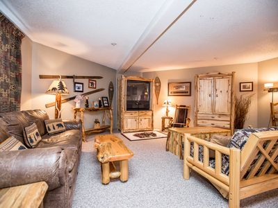 Photo for Immaculate condo steps to the ski slopes and hiking trails!!