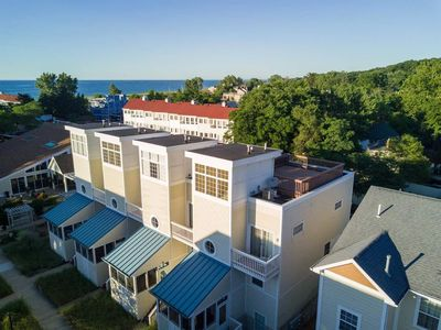 Photo for MODERN BEACHFRONT TOWNHOME ONE HOUR FROM CHICAGO, SLEEPS SIX