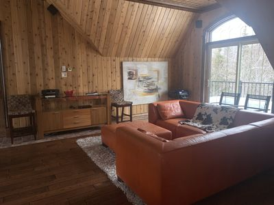 Photo for Magnificent waterfront, in the heart of the Laurentians