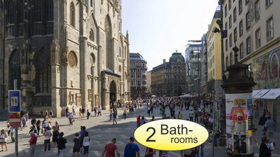 """Photo for """"St.Stephen II """"Only 1 Min. St Stephen Cathedral"""""""