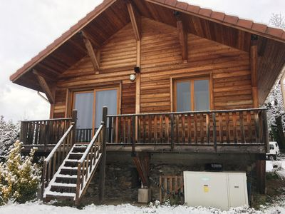 Photo for Chalet in the mountains, near ski resort 7 Laux and Collet d'allevard
