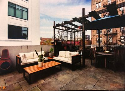 private roof deck