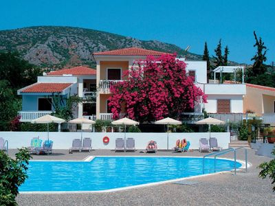 Photo for LIDO- Village 2-room apartment for 2-4 guests with pool only 2 minutes from the beach