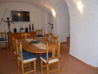 Photo for Cueva del Murcielago with 3 bedrooms and 2 bathrooms -The bat cave-