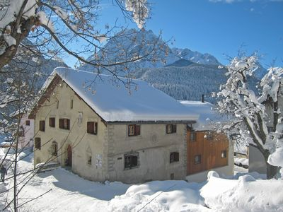 Photo for The Chasa Minar, your top holiday experience in the 300-year-old Engadine house.