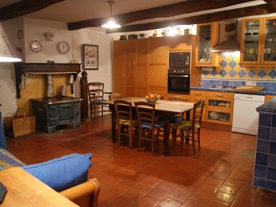 Photo for Cottage rental in Entrepierre, in the Haute-Provence Alps, old farm for 10