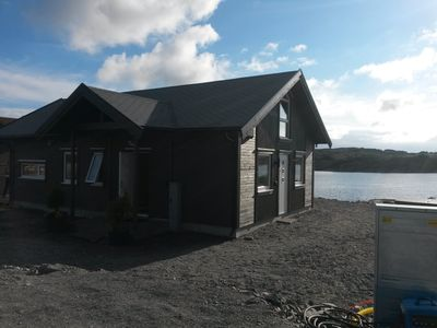 Photo for Brand new chalet with modern furnishings next Austfjorden in Sund municipality. Fam
