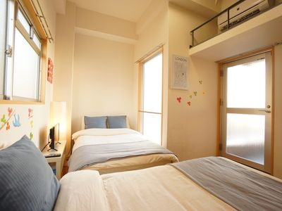 Photo for Max 6 people 2 beds  1 futon  fun wit - Terrys room Number  V803 / Osaka Osaka