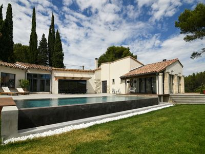 Photo for SPACIOUS VILLA RENOVATED VERY COZY OF FULL FOOT IN A PARK SPORTS WITH SWIMMING POOL