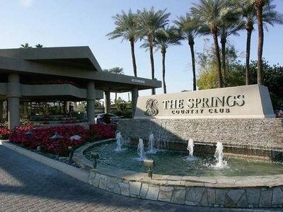 Photo for The Springs Country Club, beautiful, serene, private