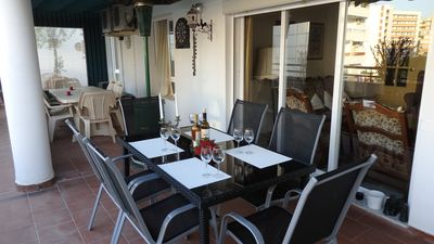 Photo for Apartment with approx. 120 m² beautiful terrace, 200 m to the beach, 6 pers.