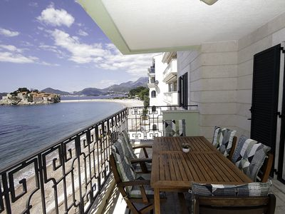 Photo for Montesan F5 Comfort 4bedroom apartement with sea view