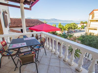 Photo for Apartment David  A2(5)  - Arbanija, Island Ciovo, Croatia
