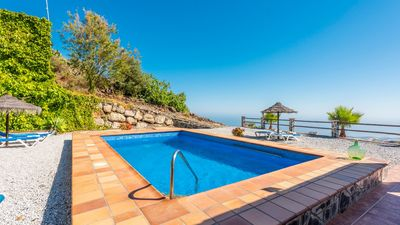Photo for Gorgeous holiday homes on the hills of Torrox with fabulous sea views