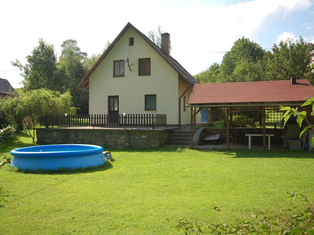 Holiday House With Outdoor Swimming Pool And Terrace Horni Hermanice Pardubice Region