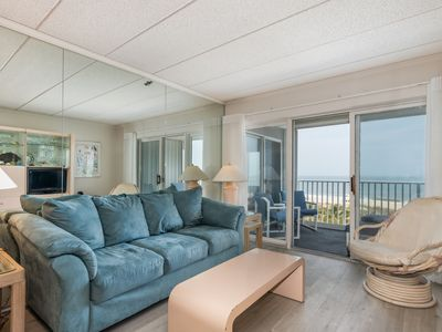 Photo for Oceanfront getaway with sweeping views and plenty of room for everyone