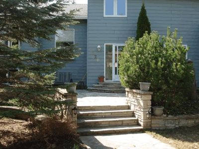 Photo for Spacious 4 Bedroom with a Beautiful Stone Patio!  Only a 2 minute walk to the Beach!!!