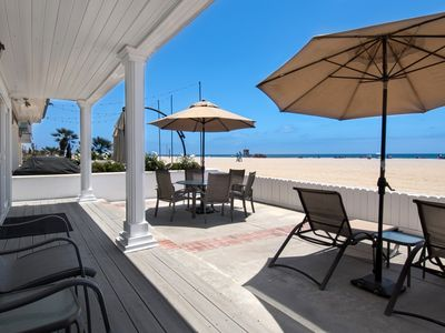 Photo for Enjoy breathtaking coastal views from this beautiful lower oceanfront unit!