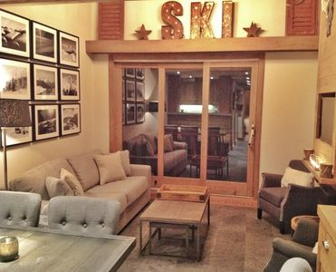 Photo for Newly Refurbished, Ski in / Ski Out, 3.5 bed Duplex Apartment, Label Meribel