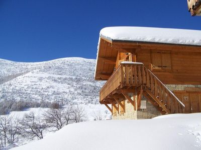 Photo for Stunning Chalet with Spectacular VIews, WIFI, Sauna and Hot Tub