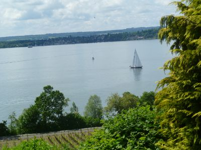 Photo for Apartment with panoramic lake view on Lake Constance Top location Meersburg