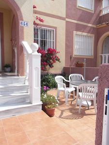 Photo for Townhouse, Roof Terrace, Brit TV, WiFi, South Facing, Views, Communal Pool