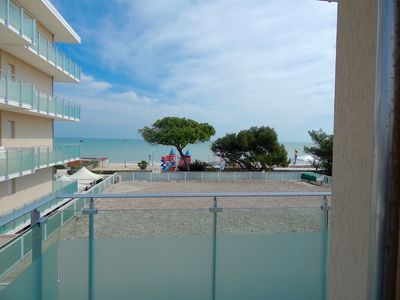 Photo for M118 - Marcelli, two-room apartment facing the sea with terrace