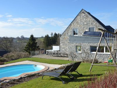 Photo for Luxury villa on the heights Francorchamps with outdoor pool, jacuzzi and sauna
