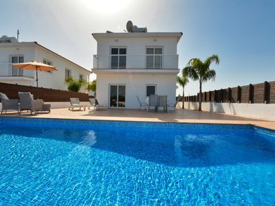 Photo for VILLA OURANIA - 4 BED WITH PRIVATE POOL - NISSI BEACH AYIA NAPA