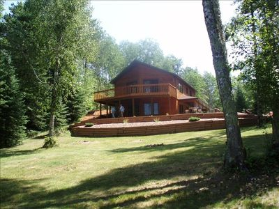 Hay Creek Cabin, Summer on the Chippewa Flowage