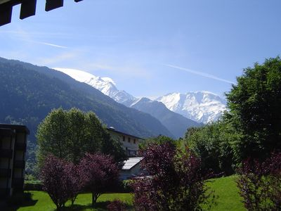 Photo for 83 m² fully equipped high standard 2 bedroom flat with Mont-Blanc views