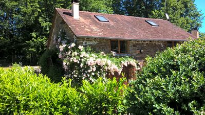 Photo for Le Moulin Neuf Sud exclusive spacious stone farmhous in 2 acre landscaped garden
