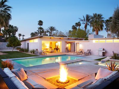 Photo for Private Meiselman Mid-Century Modern with Views and Stunning Saltwater Pool