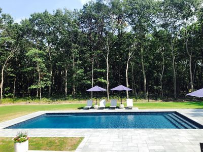 Photo for Charming Westhampton 4 Bedroom and Brand New Pool and Hot Tub!!