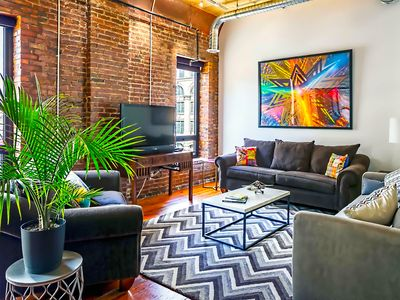 Photo for ❤️ of Downtown- 1 BR Walk to Everything! Suite Loft- Printers Alley Lofts